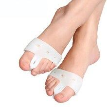 Cuidado de los pies pies cuidado de silicona Toe Protector Valgus Pro martillo Corrector Toe herramienta del cuidado de pie ajustador Hallux guardia uso diario FCT02