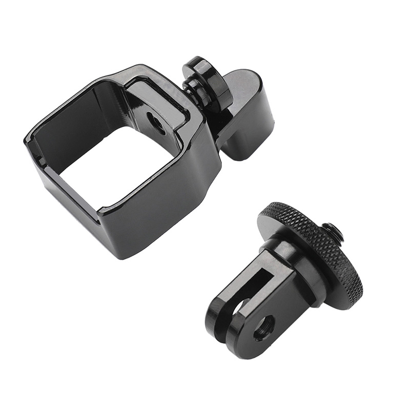 osmo Pocket Metal clip Fixed adapter 1/4 hole Support selfie stick tripod mount For gopro DJI osmo Pocket Handheld  camera pocket tripod pro