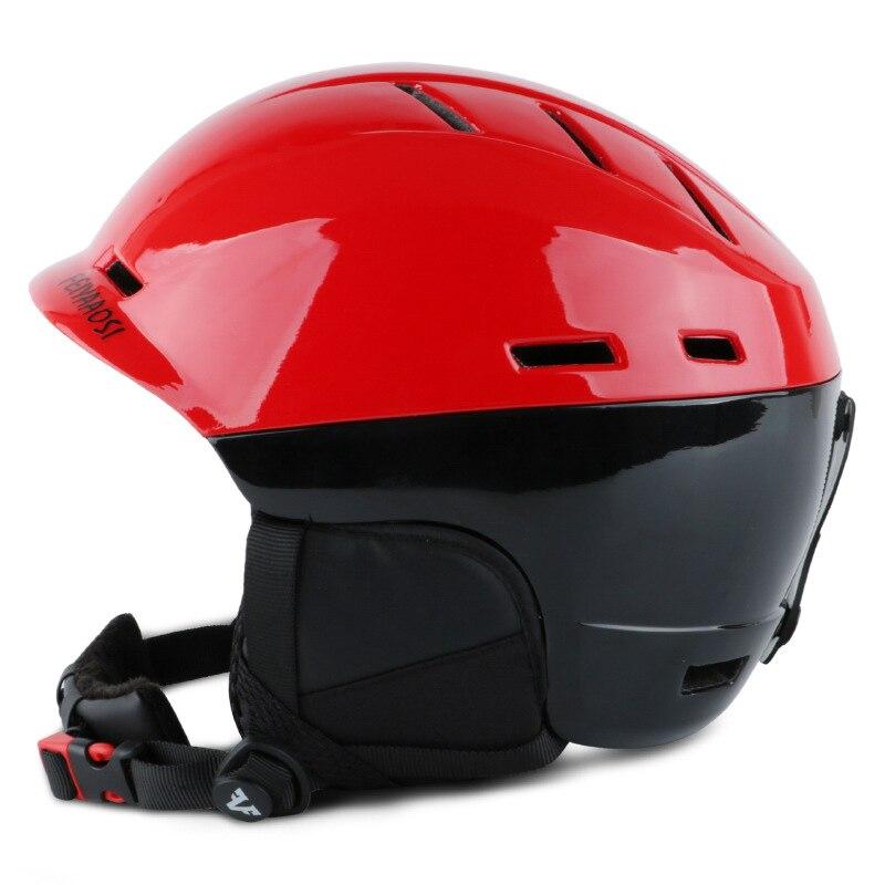Casque de Ski entièrement moulé casque de Ski pour adultes et enfants casque de neige sécurité Skateboard Ski Snowboard casque