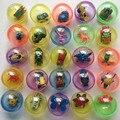 10 pçs/lote crianças crianças bebês engraçado jogos de bola de brinquedo de plástico Animal em Shilly ovo bolas