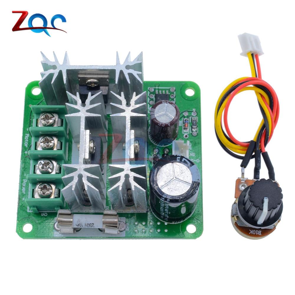6V-60V 30A LED PWM Drehzahlregler Schalter Motor Speed Controller Neu