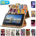 7 ''Планшет Кожаный Чехол Для Huawei MediaPad 7 Youth 2 S7-721U Крышка, печатные Универсальный планшет чехол Для Huawei Tablet сумка