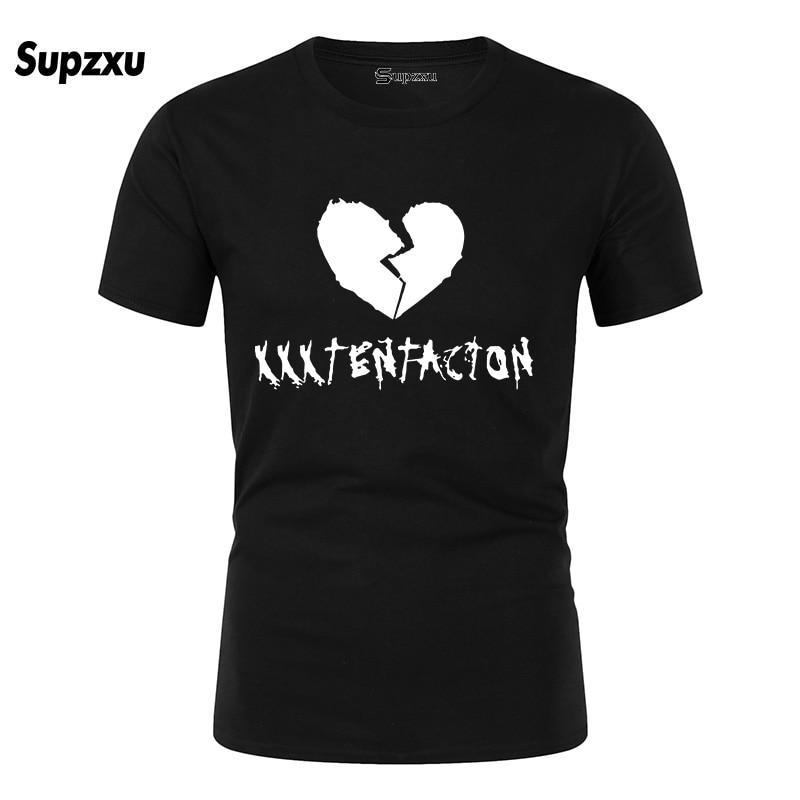 SUPZXU 2019 Print Xxxtentacion T-Shirt Fashion Casual Fitness Cool O-neck Men's T Shirt Summer Short Sleeve Men Clothing Shirt