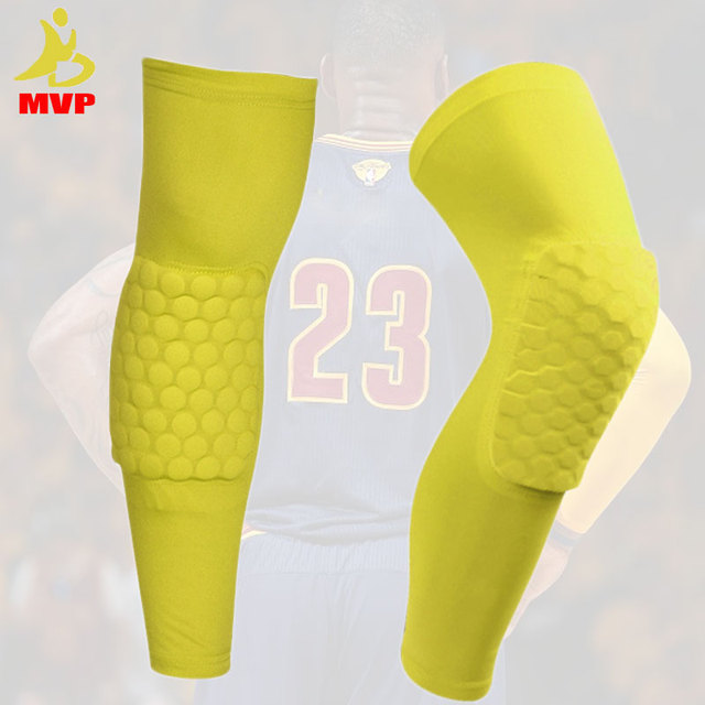 1 pc Logo Custom Honeycomb Padded Knee Brace Sports Safety Basketball Kneepad Compression Knee Sleeve Protector Knee Pads