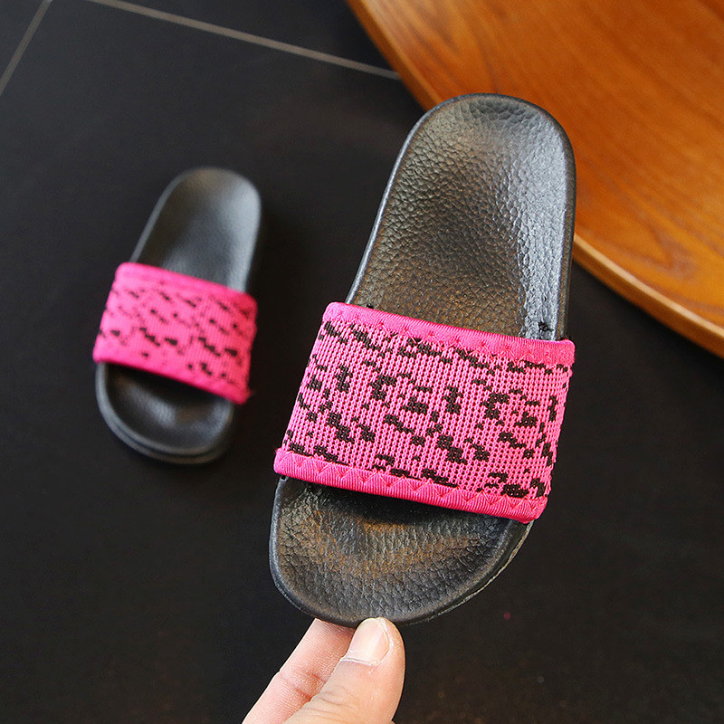 Black Blue Red Optional Baby Girl Boy Toddler Slippers Water Child Flip Flops Shoes Swimming Beach Infant For Kids Sandals 3-15Y