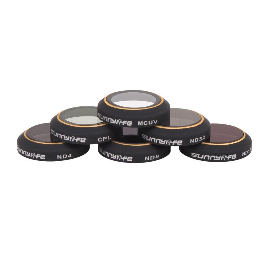 Camera Lens Filter for DJI MAVIC Pro Won't Affect Gimbal Self-inspection Mavic ND4 ND8 ND16 ND32 CPL MCUV Filter F20535/43