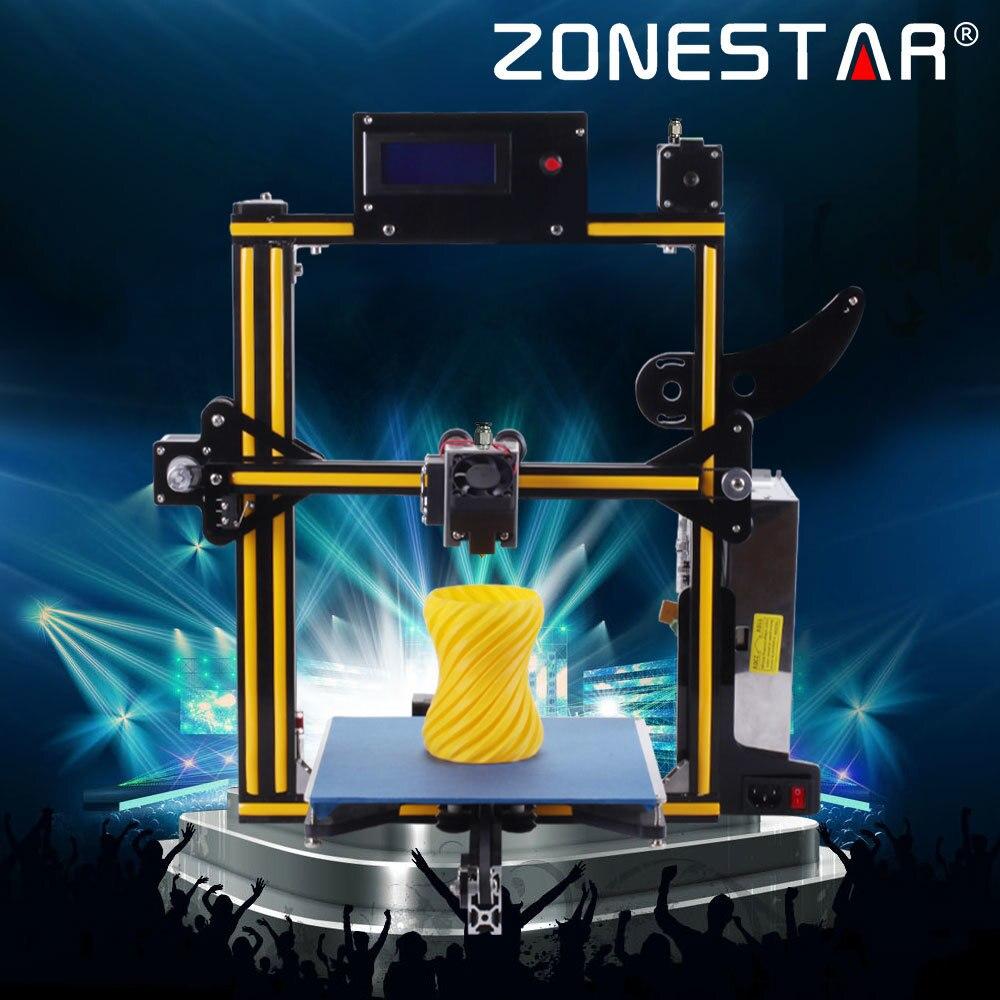 2018 Date Zonestar En Option Auto Nivellement Filament à Court Détecter Plein Cadre En Aluminium En Métal 3d imprimante kit de bricolage