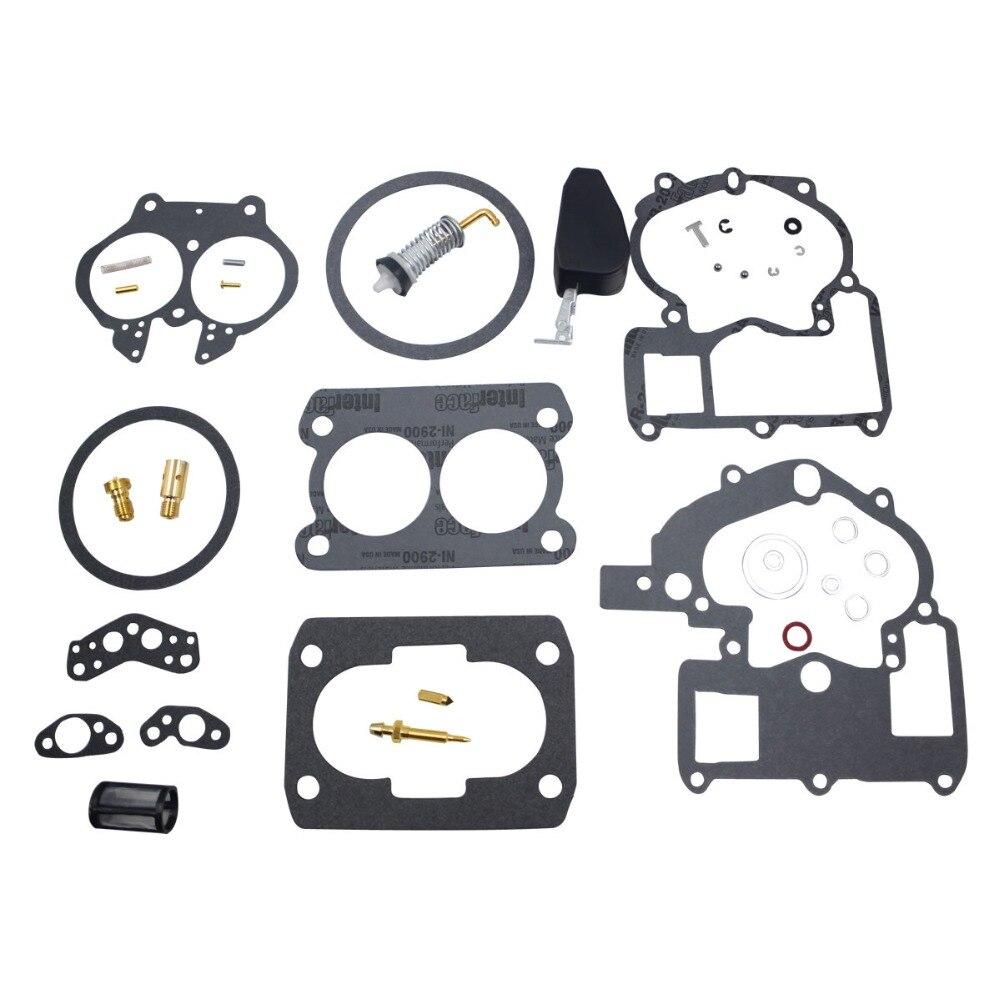 carburador reconstruir kit para mercury marine 3 0l 4 3l 5 0l 5 7l mercarb 2