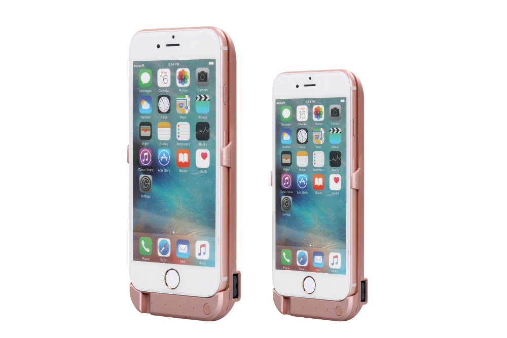 10000mAh External Battery Charger case For iphone 7 7 plus Portable Powerbank case Rechargeable phone protection