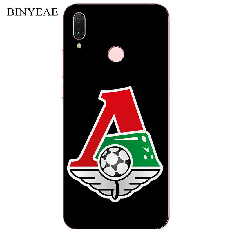 FC Lokomotiv Moscow Football Painting Case For Huawei P20 Lite Pro Y9 Prime 2018 2019 Honor 8A 8C 8X Max Phone Printed Cover