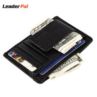Mini Wallets Small Slim Purse 100 Real Leather Wallet Card Holder Multi Pockets Credit Cards