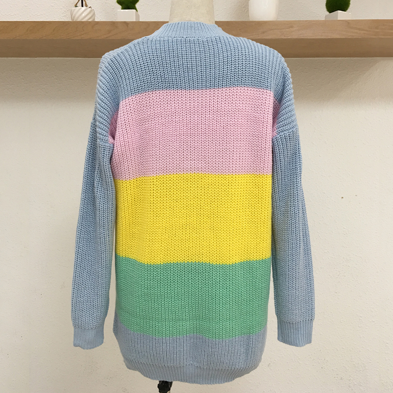 Harajuku Unif Green Plaid Cropped Cardigans Sweaters Women 2018 Autumn  Winter Vintage Knitted Cardigan Streetwear Sweater Mujer USD 41.70 piece 4aebff127