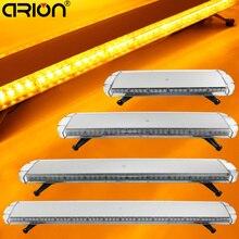 """CIRION 30"""" to 72"""" Led strobe flash warning light bar Car Trucks Beacons Safety emergency lights Lightbar 12V/24V Amber Yellow"""