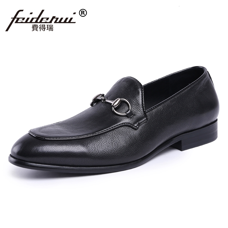 Fashion Handmade Man Casual Moccasin Shoes Genuine Leather Comfortable Loafers Designer Men's Height Increasing Flats JS79 new brand men loafers genuine leather england designer business casual shoes classical male driving flats handmade moccasins