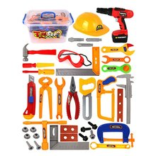 37Pcs/Set baby kids tools toy Repair tool Play House Toys Model For Early Learning Educational Home Plastic Simulation To