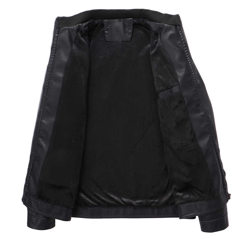 BOLUBAO Брендовые мужские кожаные замшевые куртки осень-зима мужские Куртки из искусственной кожи одежда мужские повседневные кожаные куртки пальто