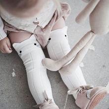2017 Lovely Baby Kids Toddlers Girls Lovely Knee High Socks Tights Leg Warmer Stock 1-4T