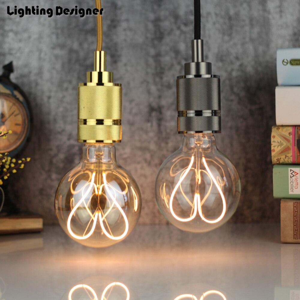G95 Led Vintage Lamp Globe New Type Love Edison Bulb Soft