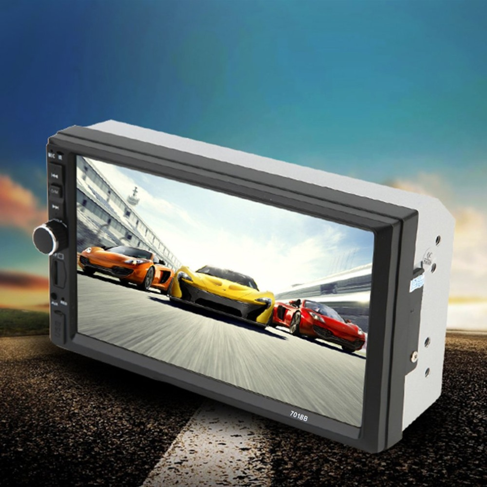 Car Vehicle 7 Inch Screen TF Card Doule Din Bluetooth MP5 Player Auto Multimedia Player Audio Player BlackCar Vehicle 7 Inch Screen TF Card Doule Din Bluetooth MP5 Player Auto Multimedia Player Audio Player Black