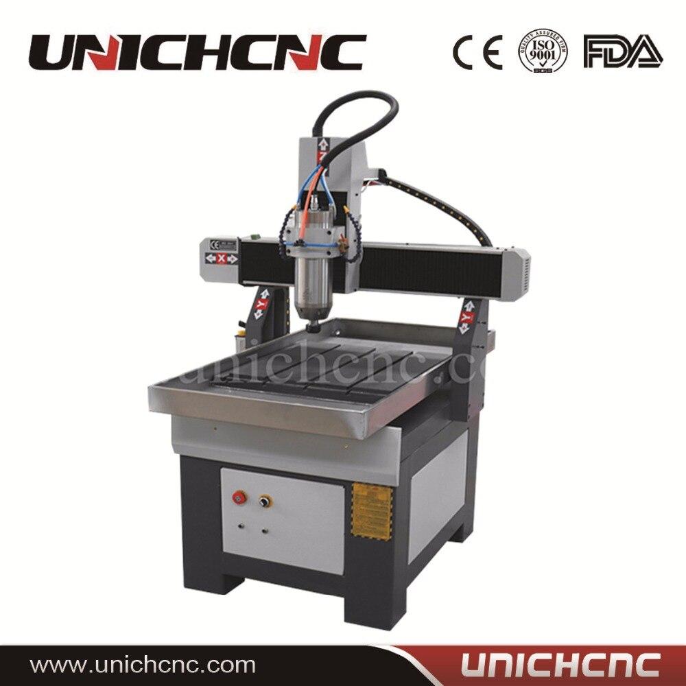 China unichcnc 6090 6060 stone cnc router machining center