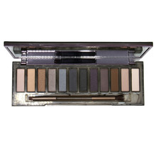 Natural Eyeshadow Makeup Cosmetics Eye shadow Palette 12 Color Matte eyeshadow Palettes With Brush Make up 100% real photo