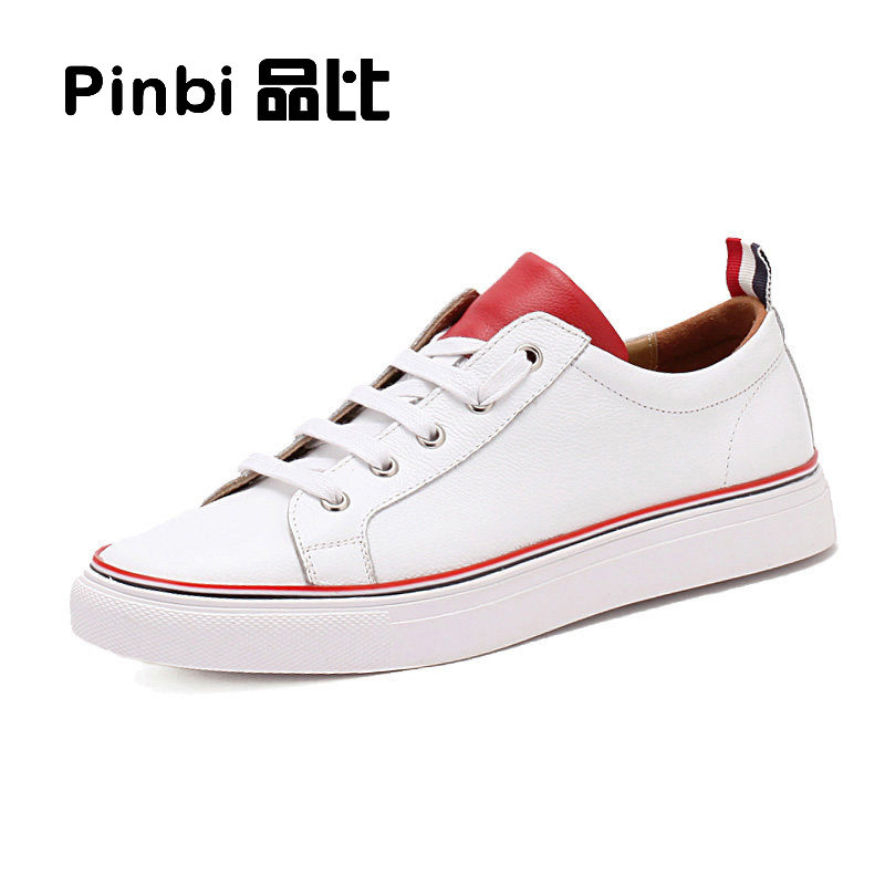 TB white shoes breathable leather strap leisure Korean flat with sports men shoes all-match student couples men shoes pearl white canvas shoes shoes white shoes all match flat flat with lace shoes in autumn korean students