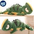 Зеленая игуана хамелеон личность кукла плюшевые игрушки куклы подарок на день рождения подушка