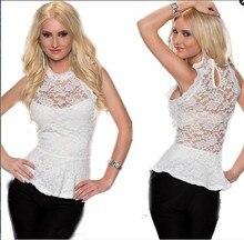 Nice New Women Lace Blouses Sexy Plus Size Floral Crochet Chiffon Pops Hollow Out Women Lace Blouse Fashion Blusa Renda Shirt