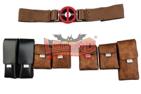 Movie Deadpool 2 Cosplay Adult Deadpool Waist Belt Pouches Halloween Carnival Cosplay Accessories