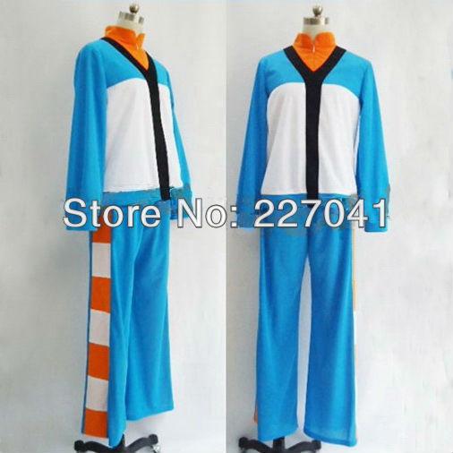 Inazuma Eleven GO Cosplay Japan Soccer Team long Uniform