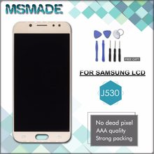 MSMADE Original 100% Tested For Samsung Galaxy J5 2017 J530 J530F LCD Display+Touch Screen Digitizer OEM Assembly free tools(China)