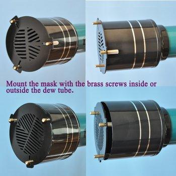 80mm Metall Alumminum Bahtinov Fokussierung Maske Astronomic Generator Ausgestattet Durchmesser