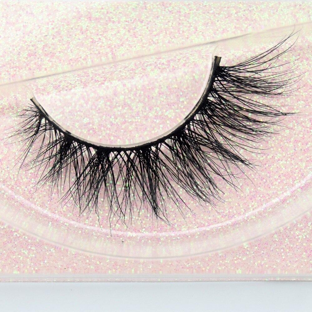 False Eyelashes Handmade Winged Eyelashes Natural Full Strip Lashes Cruelty Free Mink Eyelashes Extension Makeup Maquiagem Tools