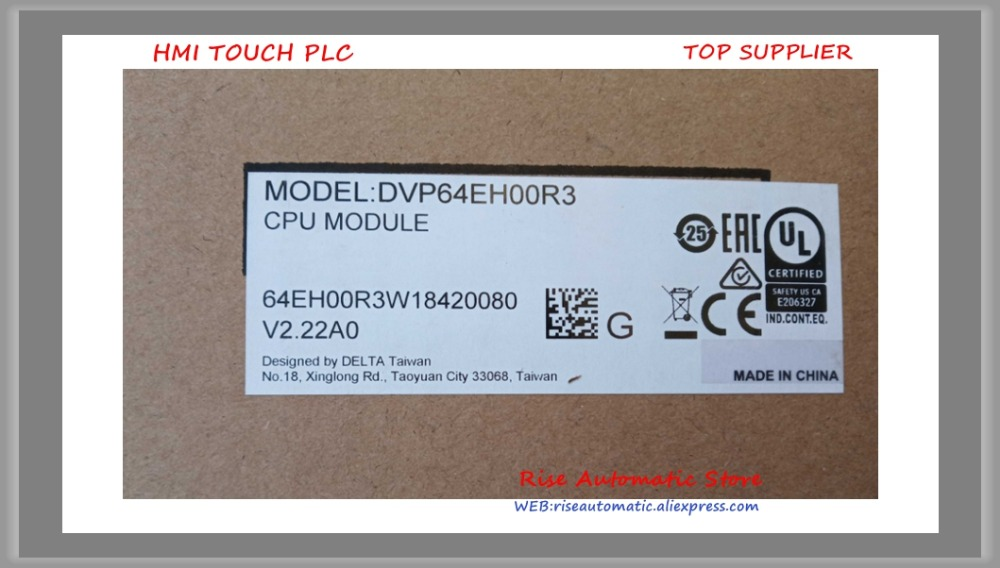 New Original PLC DVP64EH00R3 DVP64EH00T3 DVP80EH00R3 DVP80EH00T3 DVP64EH00R2 In Boxed-in Brackets from Home Improvement    1