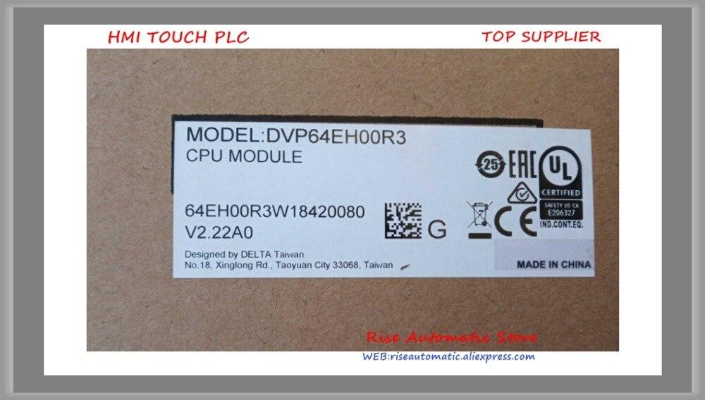 Nouveau Original PLC DVP64EH00R3 DVP64EH00T3 DVP80EH00R3 DVP80EH00T3 DVP64EH00R2 En Boîte