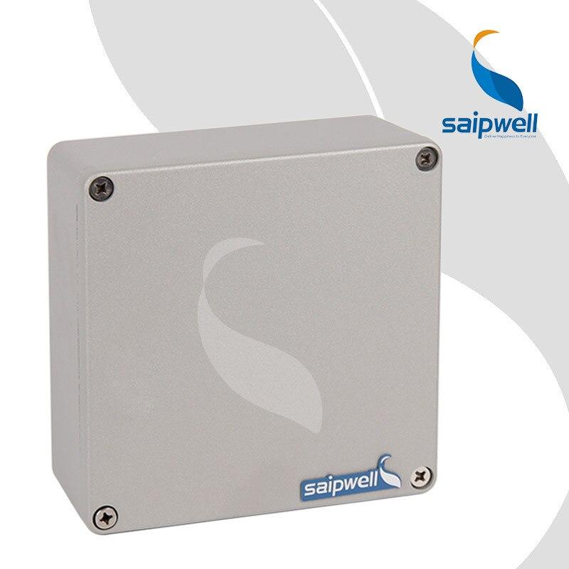160*160*70mm Peinture Pulvérisation Boîtier En Aluminium/Projet Boîte Boîtiers pour L'électronique (SP-AG-FA61)