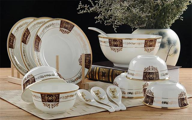 32-piece set royal fine bone china dinnerware set porcelain buffet dishes & 32 piece set royal fine bone china dinnerware set porcelain buffet ...