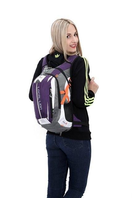 18L bicycle bag women outdoor sports backpacks hiking camping mountain bike bags double shoulder bag girl rucksack
