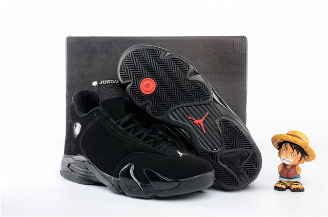 best service 902e8 4a396 US $74.05 31% OFF|Jordan Air Retro 14 XIV 'black cat' Mens Basketball Shoes  Medium Heights Inc Inceasing Waterproof Sneakers For Men-in Basketball ...
