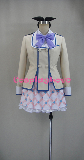 If Her Flag Breaks Nanami Knight Bladefield Uniform COS Clothing Cosplay Costume