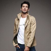 Brand Men Jacket Military Plus 6XL Army Soldier Coat Cotton Air Force Male Brand Clothing Spring