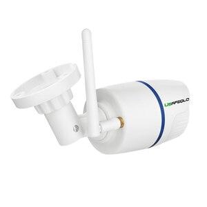Image 4 - USAFEQLO 1080P 960P 720P bezprzewodowa kamera IP iCSEE P2P RTSP wykrywanie ruchu wodoodporna kamera WiFi Bullet z 128G gniazdo kart SD