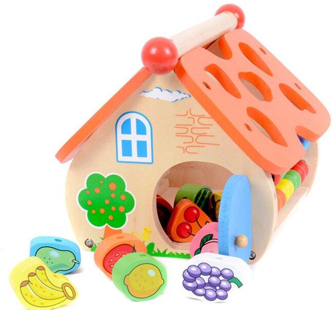 Новые деревянные игрушки мудрость дома детские игрушки Бесплатная доставка