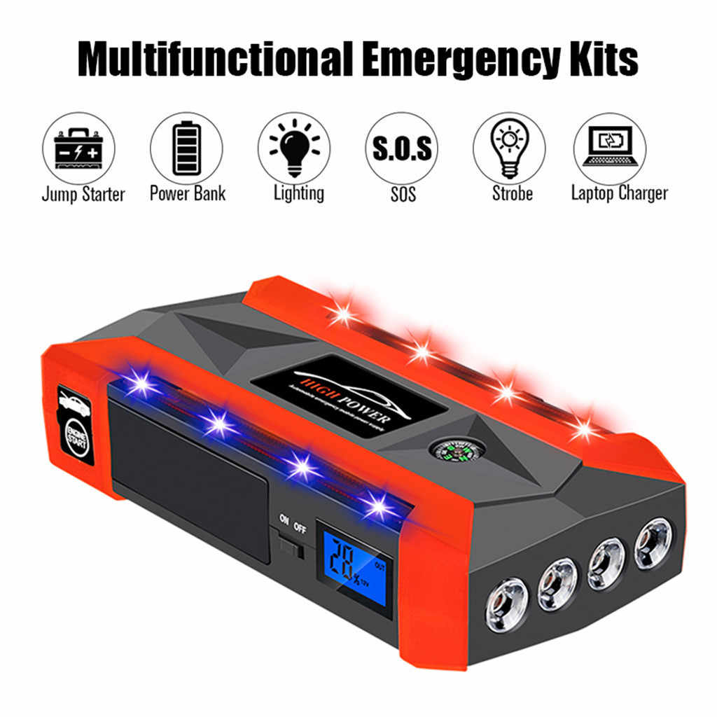 12v battery ups 12v20000mAh 12V LCD 4 USB Car Jump Starter Pack Booster Charger Battery Power Bank аккумулятор  rechargeable bat
