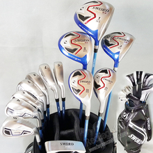 New Compelete clubs set KATANA SWORD IZU MAX VX Golf clubs 1.3.5 wood+irons+hybrid+putter+bag Graphite Golf shaft free shipping