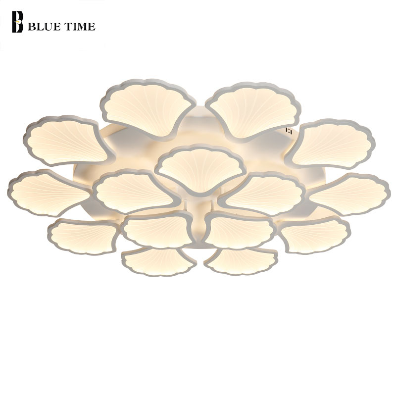 White Acrylic Modern Led Chandelier Lamp For Living Room Bedroom Dining Room Lustres LED Ceiling Chandelier Lighting Fixtures resin aircraft baby room wood chandelier led acrylic 3 head pendant lamp modern chandelier led children s kids bedroom loft