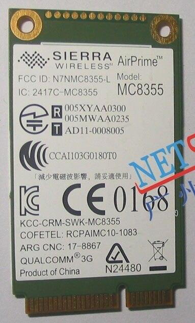 Sierra MC8355 GOBI3000 GPS 3 G HSPA / EVDO WWAN 3 G tarjeta para Lenovo Thinkpad X220 T420 T520 X230 T530 W520 W530 60Y3257