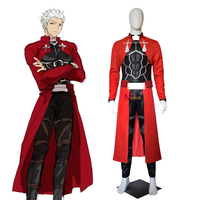 Game Fate Stay night Archer Emiya Cosplay Costume Outfit Suits Halloween Anime High Quality Adult Costumes For Men