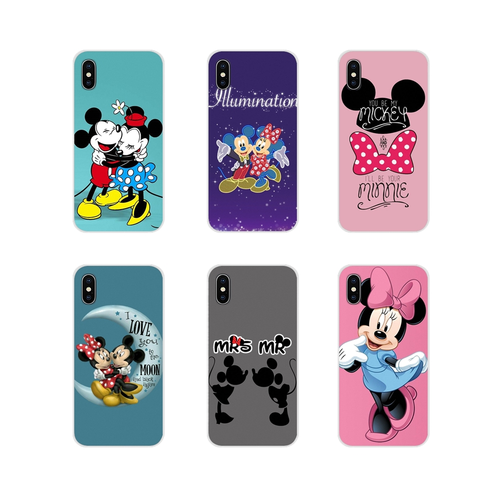 Niedlichen cartoon <font><b>mickey</b></font> minnie maus Transparent TPU Cases Für <font><b>Samsung</b></font> Galaxy J1 J2 J3 J4 <font><b>J5</b></font> J6 J7 J8 Plus 2018 Prime 2015 <font><b>2016</b></font> 2017 image
