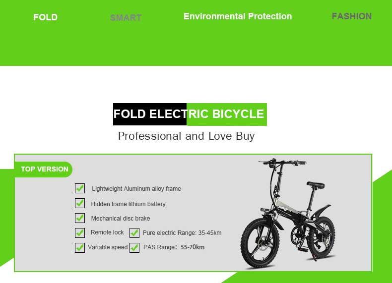 HTB1PqnnX5jrK1RjSsplq6xHmVXau - Daibot Transportable Electrical Bike Two Wheels Electrical Scooters 20 inch Brushless Motor 250W Folding Electrical Bicycle 48V For Adults